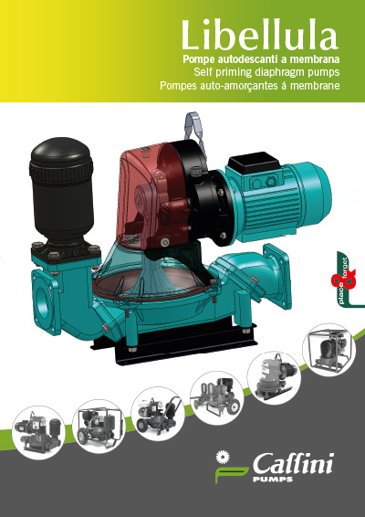 New catalog diaphragm pumps
