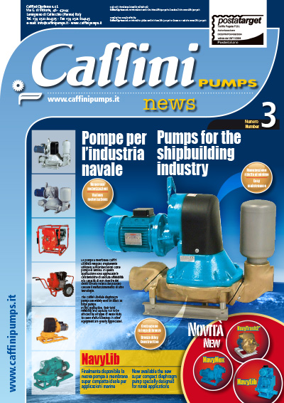 Caffini Pumps House organ - News n. 3