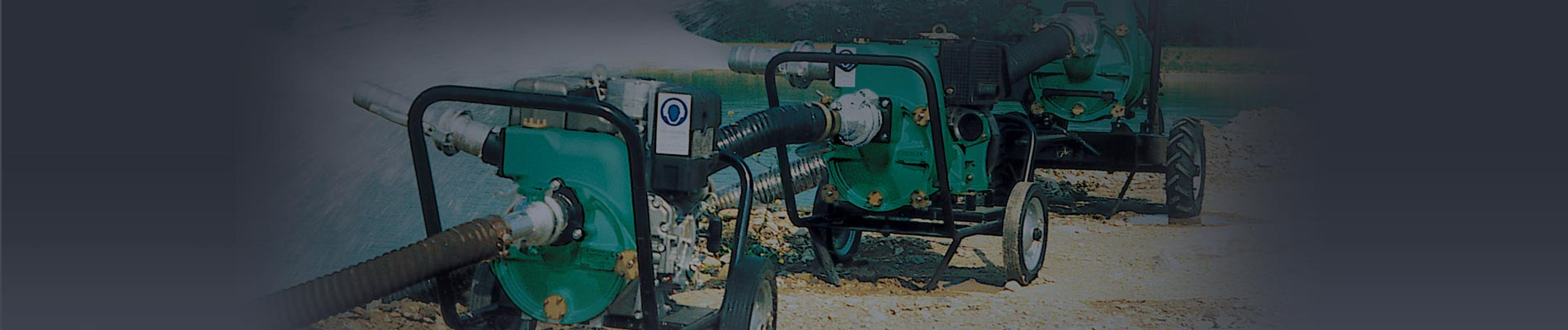 Caffini Pumps - Diaphragm pumps and self-priming centrifugal